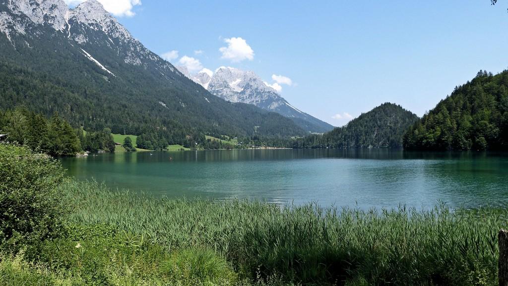 Hintersteiner See 882 m in Kaisergebirge