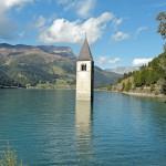 Reschensee in Vinschgau