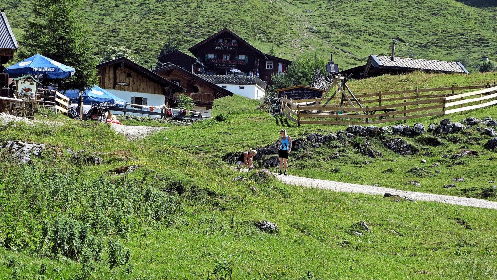 Jausenstation Stöfflhütte 1170 m
