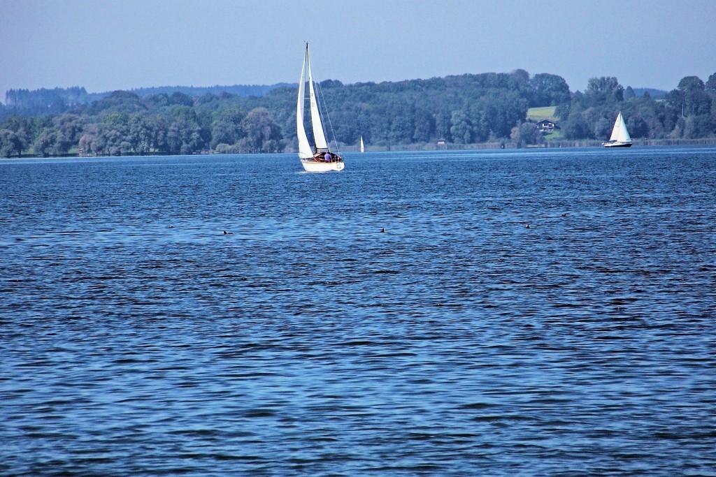 Chiemsee das Bayrische Meer