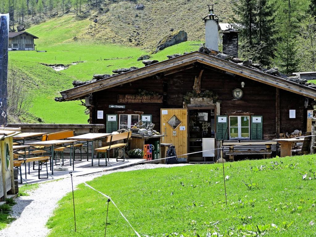 Jausenstation Schwarzachtal 1400 m