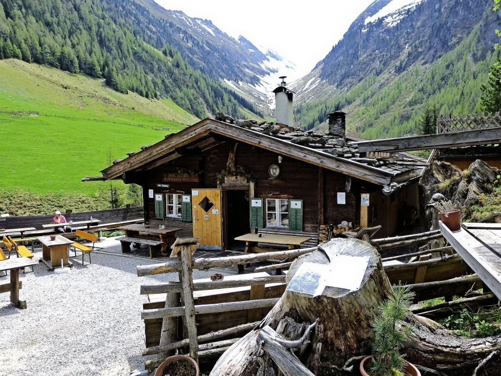 Jausenstation Schwarzachtal