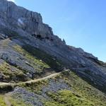 Wandersteg zur Karwendelspitze