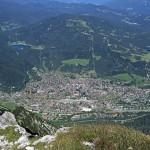 Blick nach Mittenwald