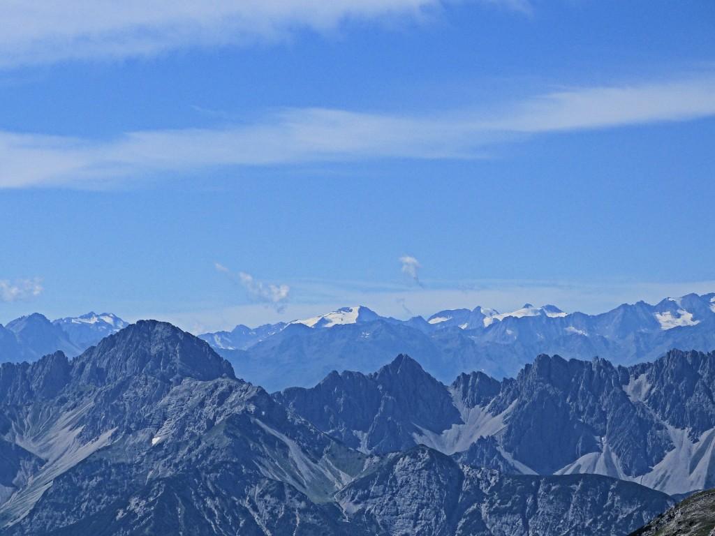 Ausblick in den Alpen