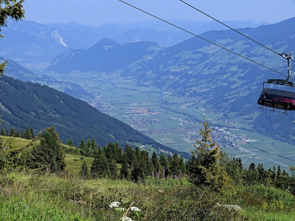 Von Zillertaler Höhenstrasse