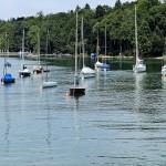Segelboote auf den Starnbergersee