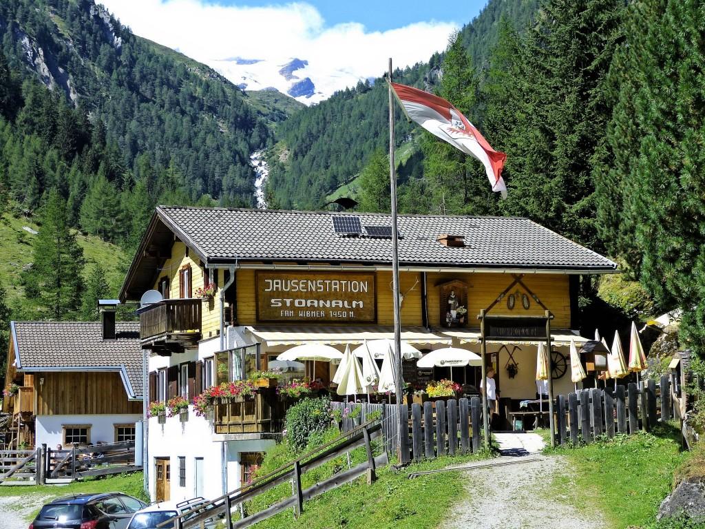 Stoun-Alm 1469 m in Maurertal