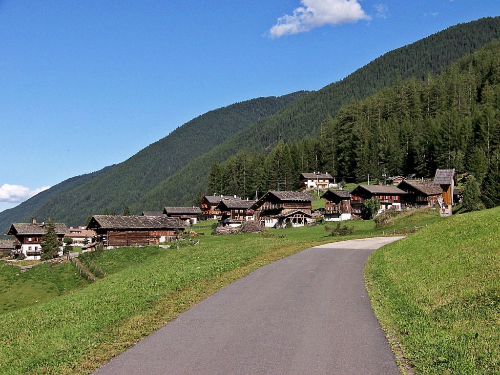 Bauernhöfe in St. Gertraud