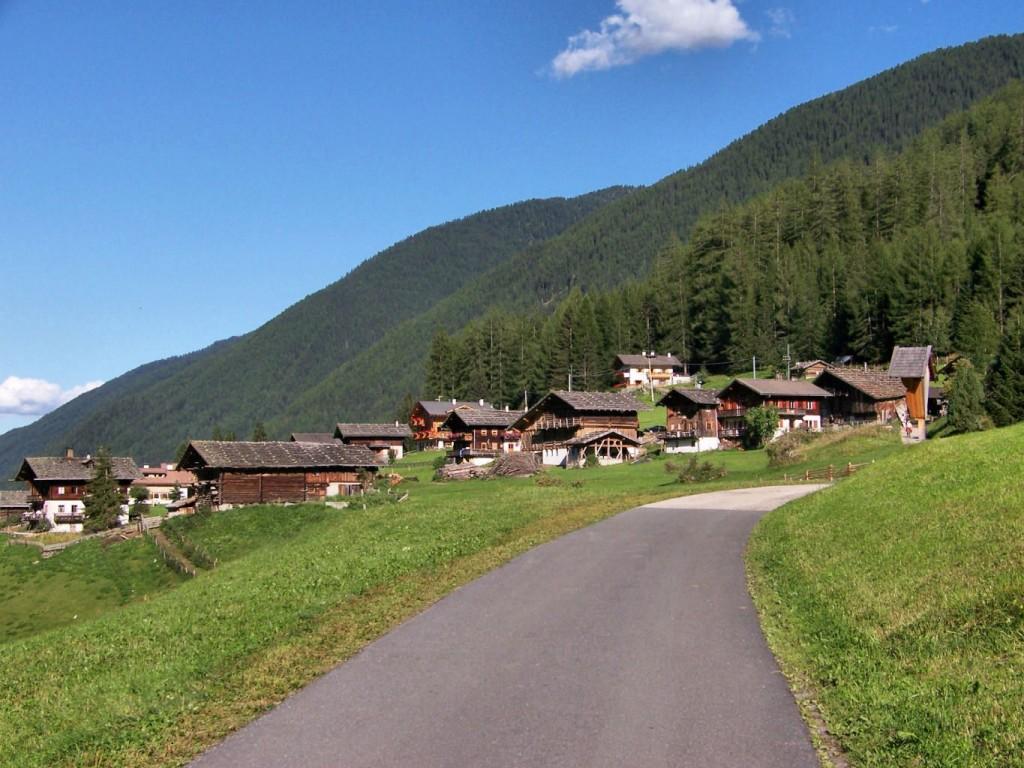 Bauernhöfe in St. Gerdtraud Ultental