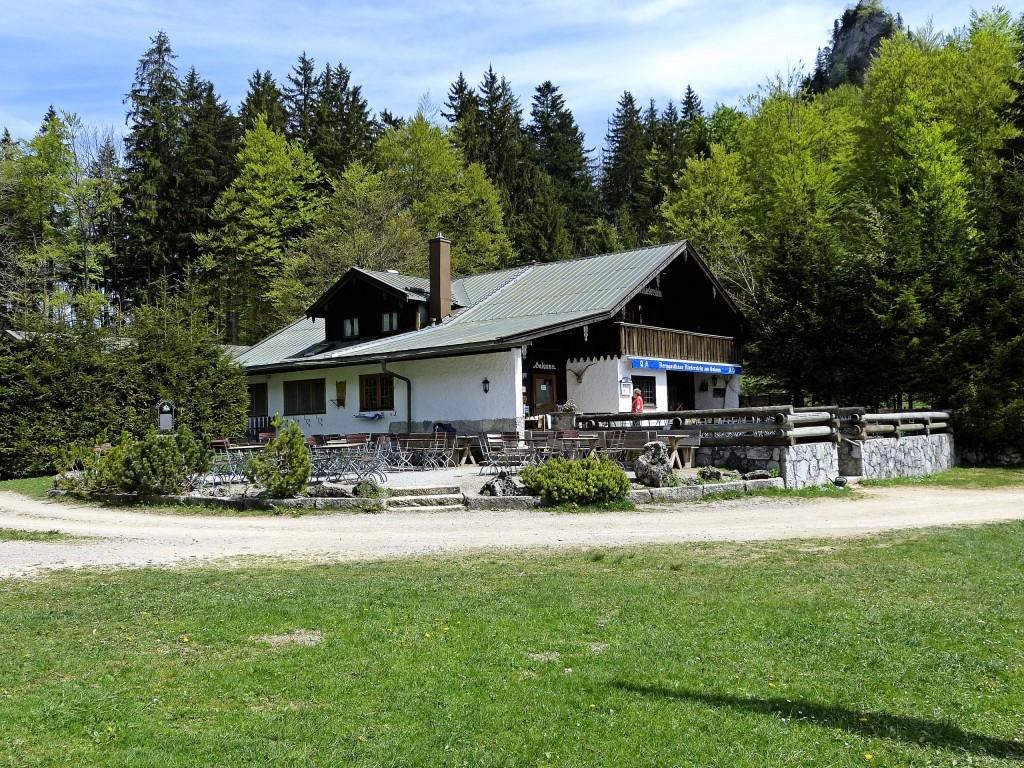 Berggasthaus Riederstein am Galaun ( 1060 m )