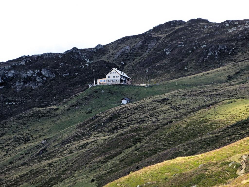 Rastkogelhütte aus der Ferne