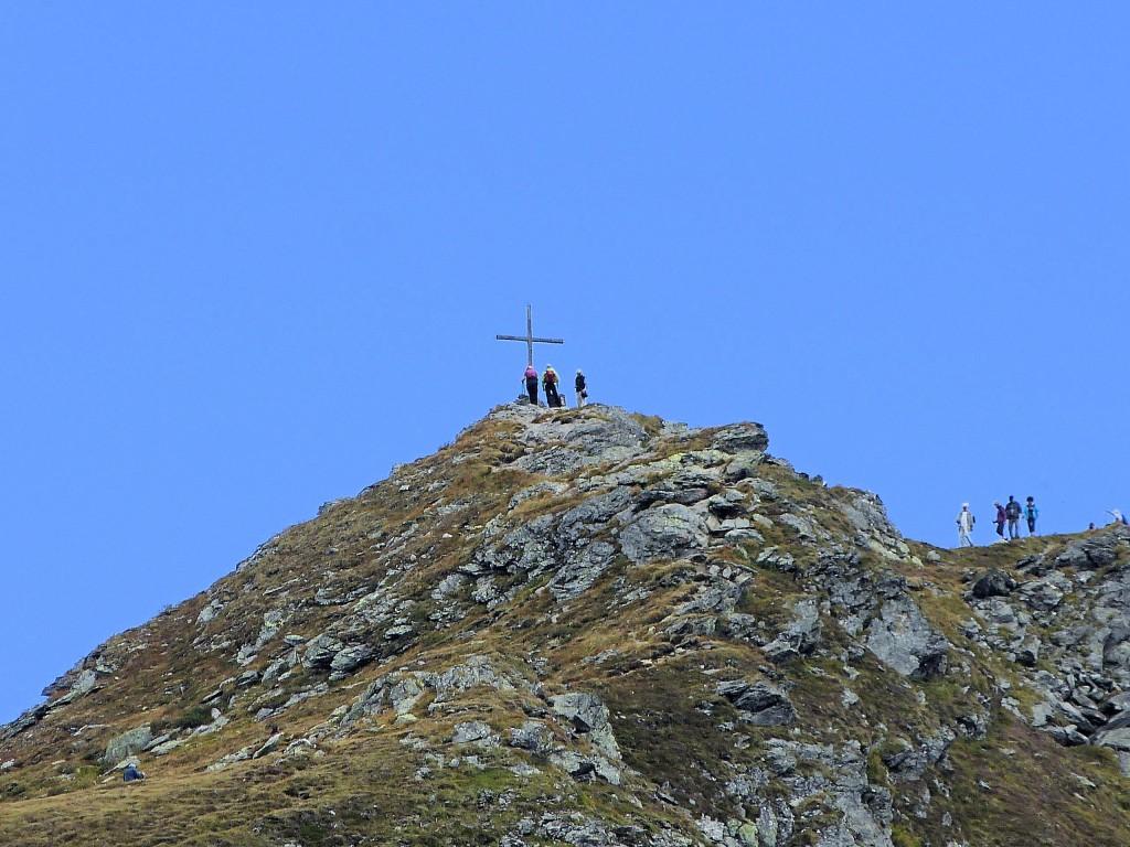 Sidanjochs 2127 m in den Tuxer Alpen
