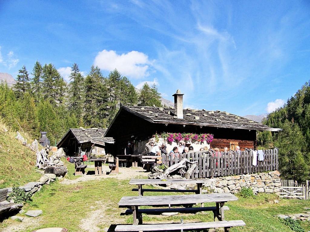 Jausenstation Mastaun-Alm 1.810 m