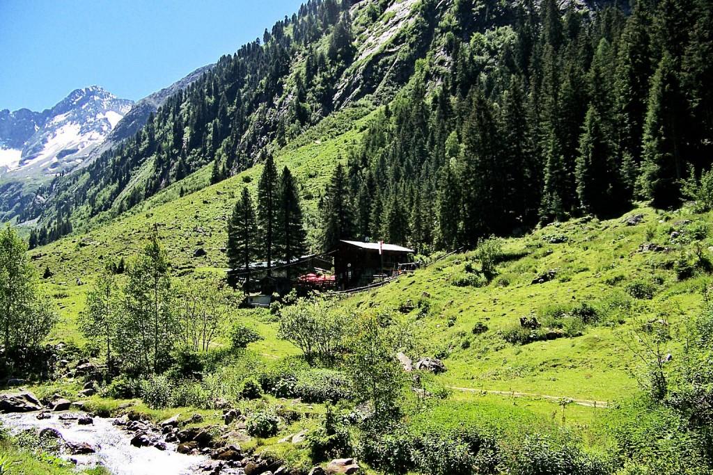 Maxhütte 1445 m im Gunggltal