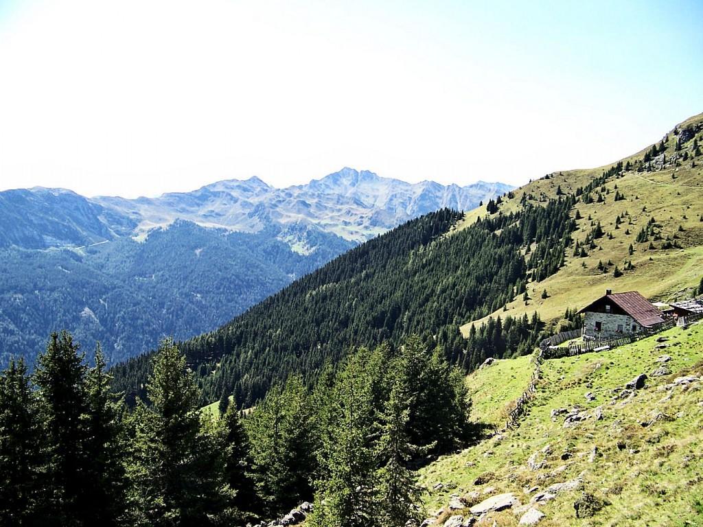 Die Landschaft um Ochsenalm