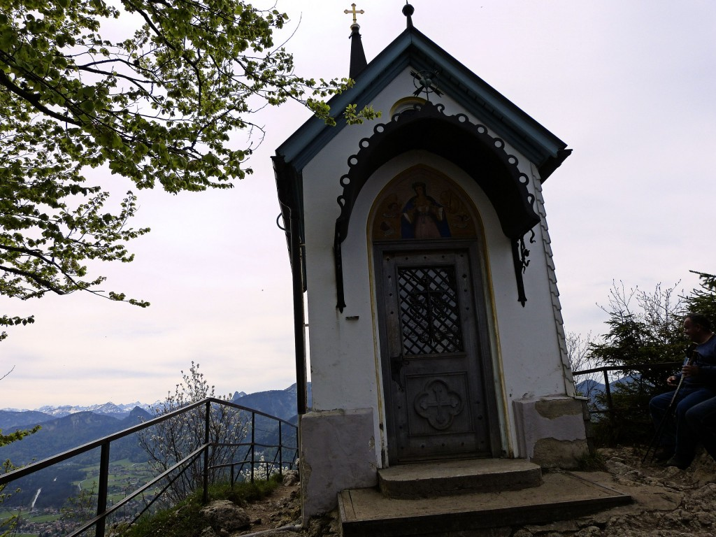 Die Riedersteinkapelle 1207 m oberhalb Tegernsee