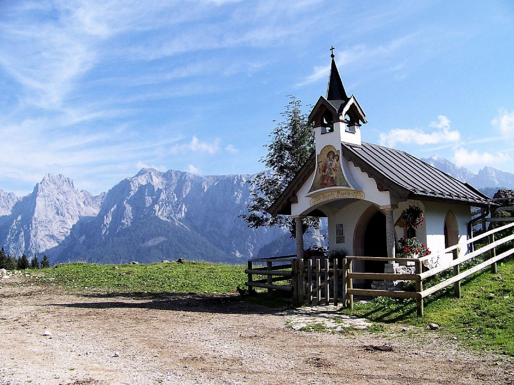Josefs Kapelle bei der Ritzau Alm.