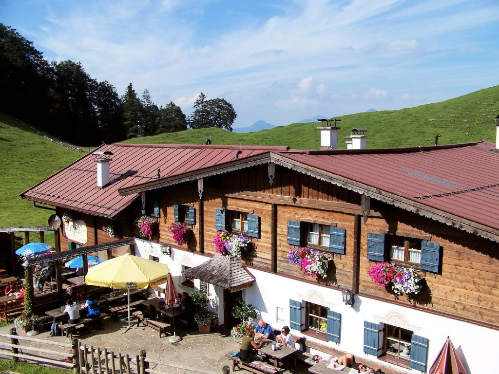 Schutzhütte Alpengasthof Ritzau Alm