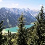Achensee von Bergstation Rofan aus gesehen