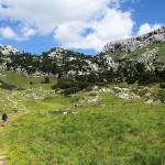 Wanderweg im Rofangebirge