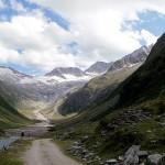 Weg zum Furtschagl-Haus 2295 m