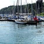 Segelbootshafen bei Possenhofen am Starnbergersee