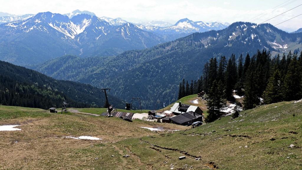 Oberen Maxlraineralm (1520 m)