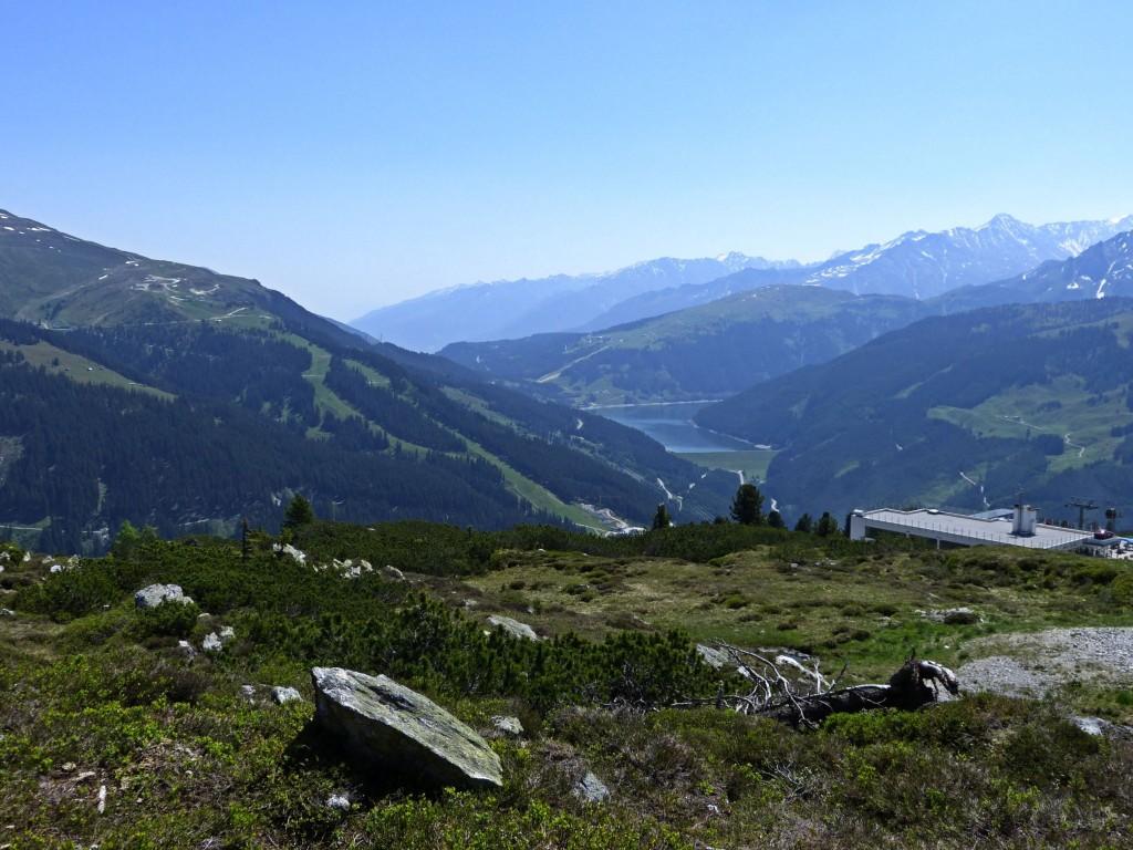 Durchlassboden Stausee und Zillertaler Alpen