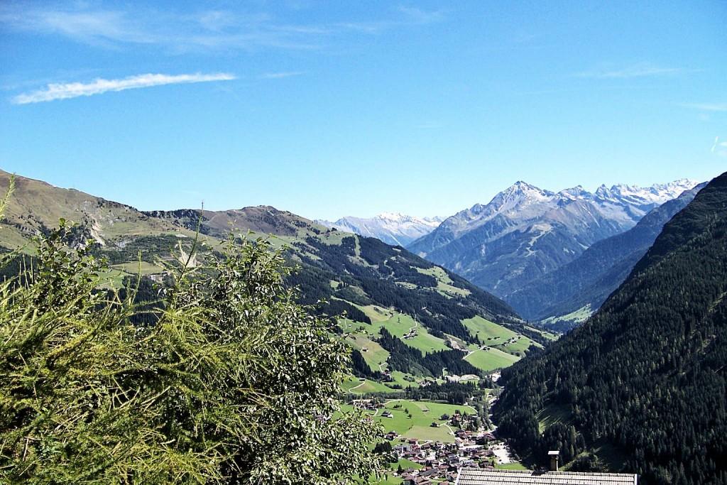 Aussicht in die Zillertaler Alpen