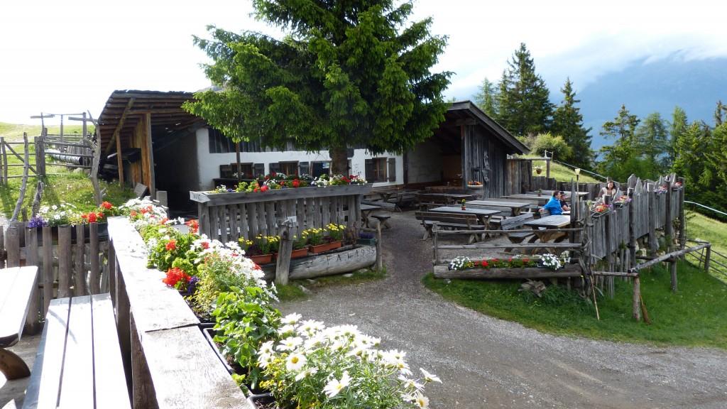 Marzoner Alm 1600 m in Vinschgau