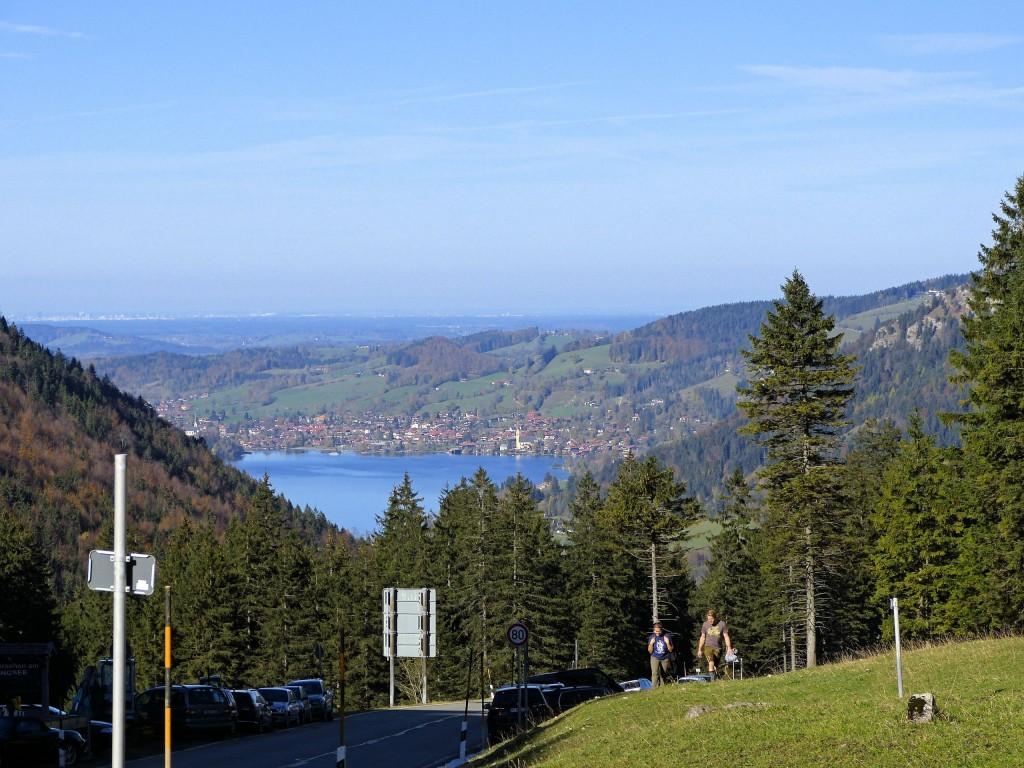 Schliersee in Bayern