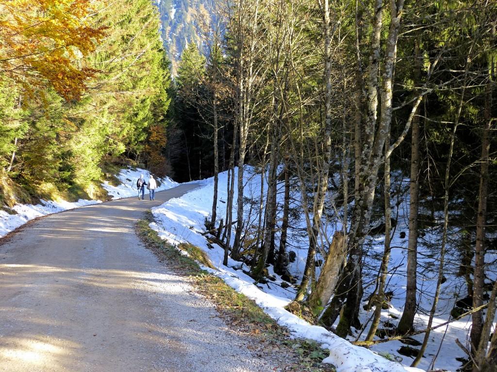 Der Winter läßt Grüßen