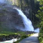 Der untere Krimmler Wasserfall
