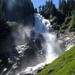 Der obere Krimml Wasserfall