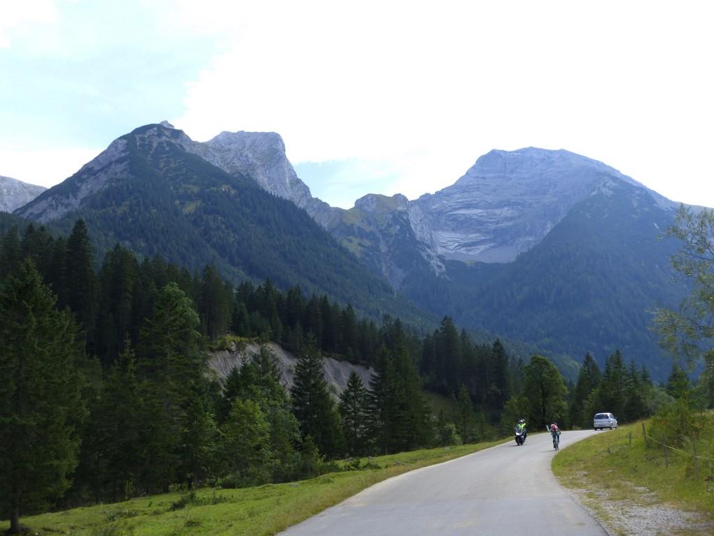 Risstal in Karwendelgebirge Orginal