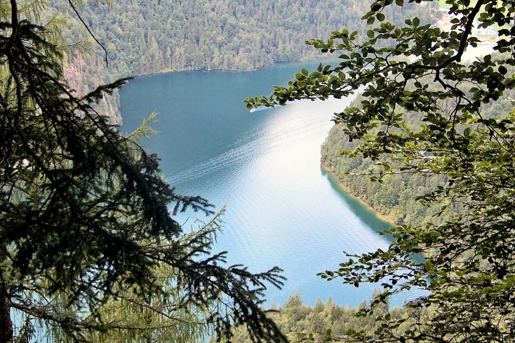 Königssee bei Schönau in Berchtesgadener Land