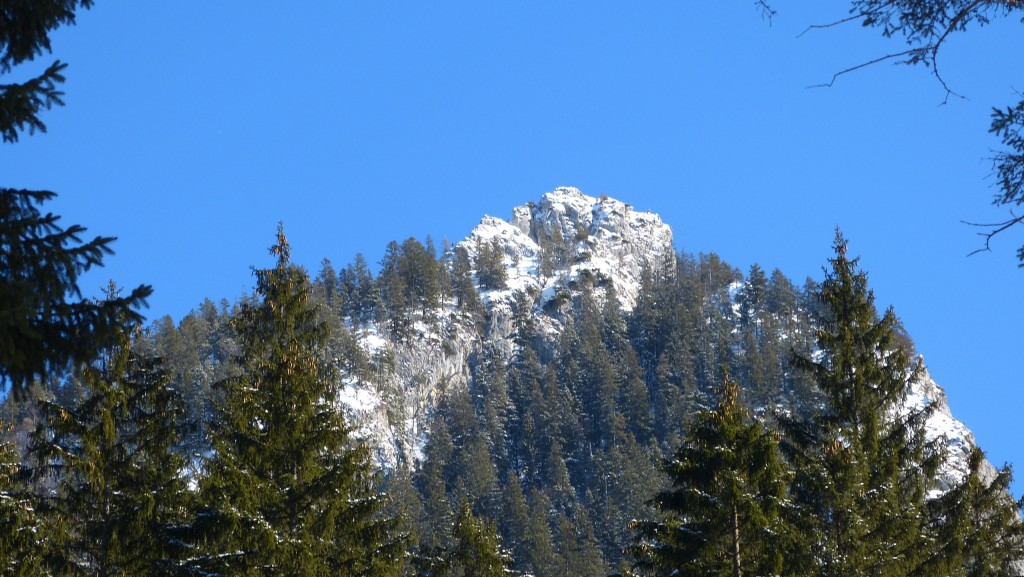 Leonhardstein im Winter