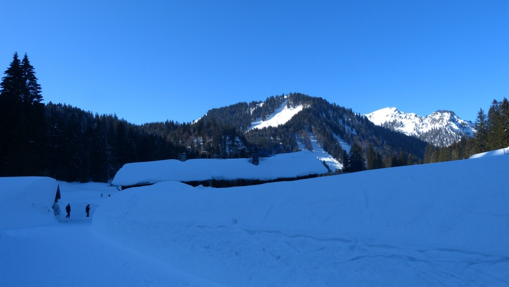 Schwarze Tenn Alm im Winter