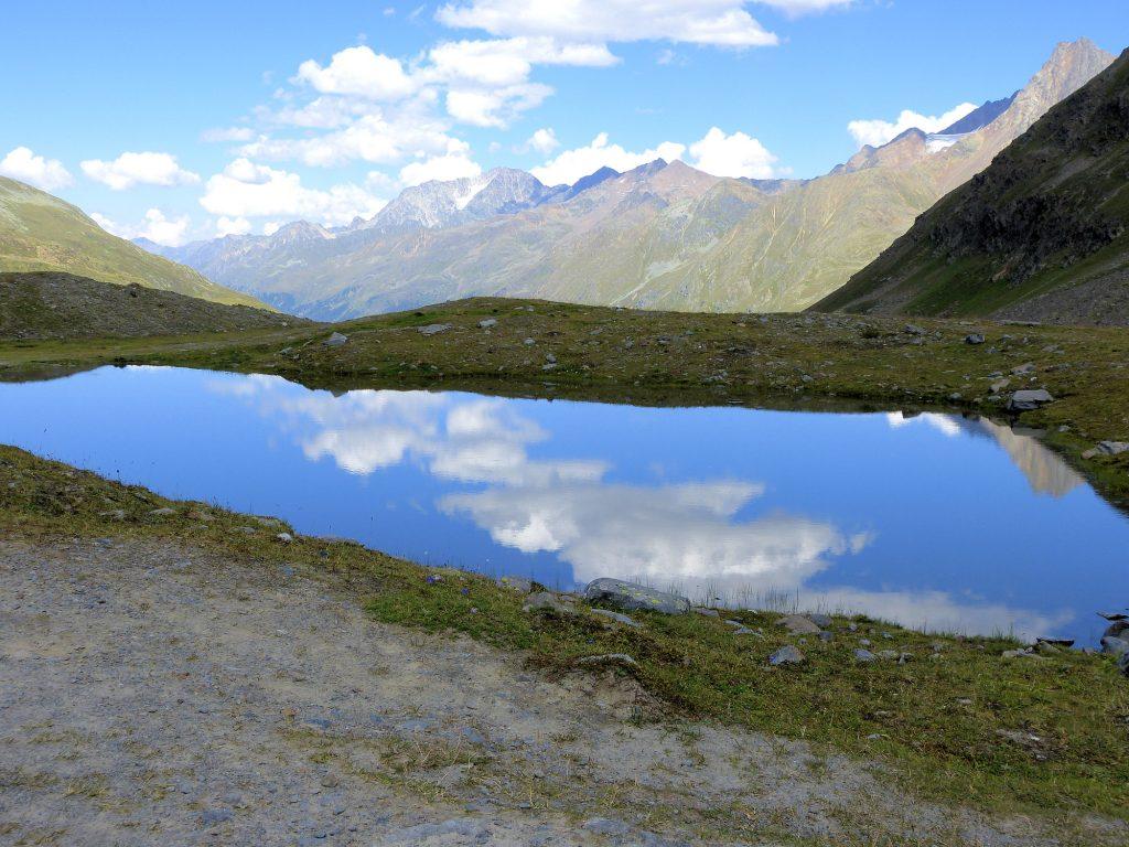 Kleiner See neben dem Weißsee